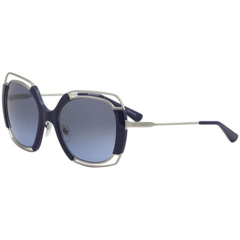a743c60d253c Tory Burch TY6059 Silver/Navy Frame Grey/Blue Gradient 54mm Lens Sunglasses