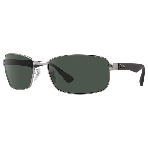 16e3bf73ed Shop Ray-Ban RB3478 Gunmetal Black Frame Polarized Green 60mm Lens  Sunglasses - Free Shipping Today - Overstock.com - 25602952
