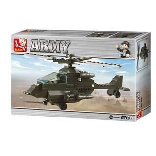 Sluban Land Forces Apachi Battle Helicopter (158 Pcs) B6200