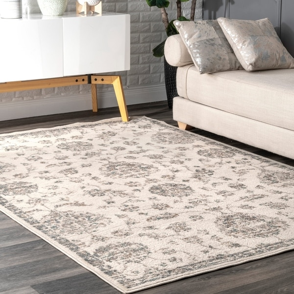 Shop The Gray Barn Parrish Grey Botanical French Toile Area Rug