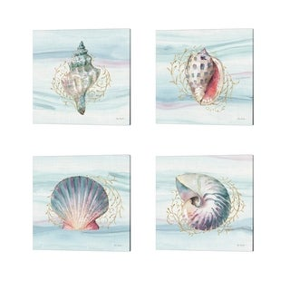 Lisa Audit 'Ocean Dream' Canvas Art (Set of 4)