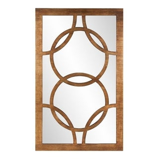 Felicity Rectangle Wall Mirror - Gold - A/N
