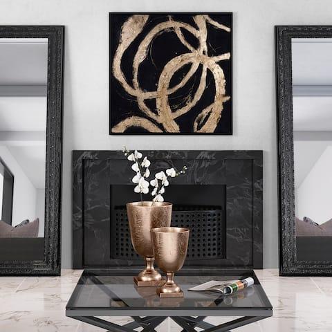 Ballare Canvas Wall Art - Black