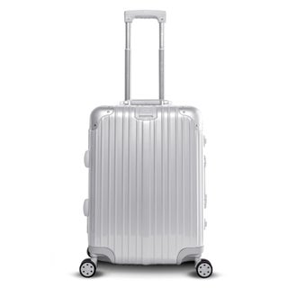 "Gabbiano Aurora Collection Aluminum Frame 30"" Spinner Luggage with TSA locks"
