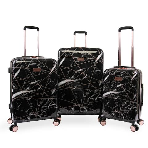 Juicy Couture Vivian 3-pc Hardside Spinner Luggage Set