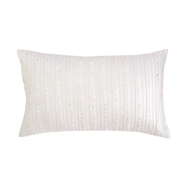 Pearl Band Hand Beaded Pillow