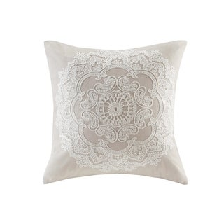 Harbor House Suzanna Taupe Square Pillow