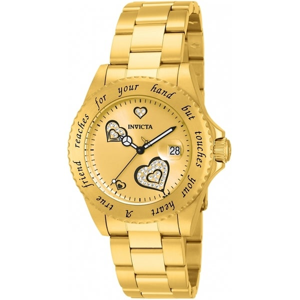 Invicta Women's Angel 14733 Gold Watch