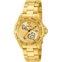 Invicta Women's Angel 14733 Gold Watch