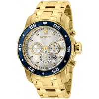 Invicta Men's Pro Diver 80067 Gold Watch