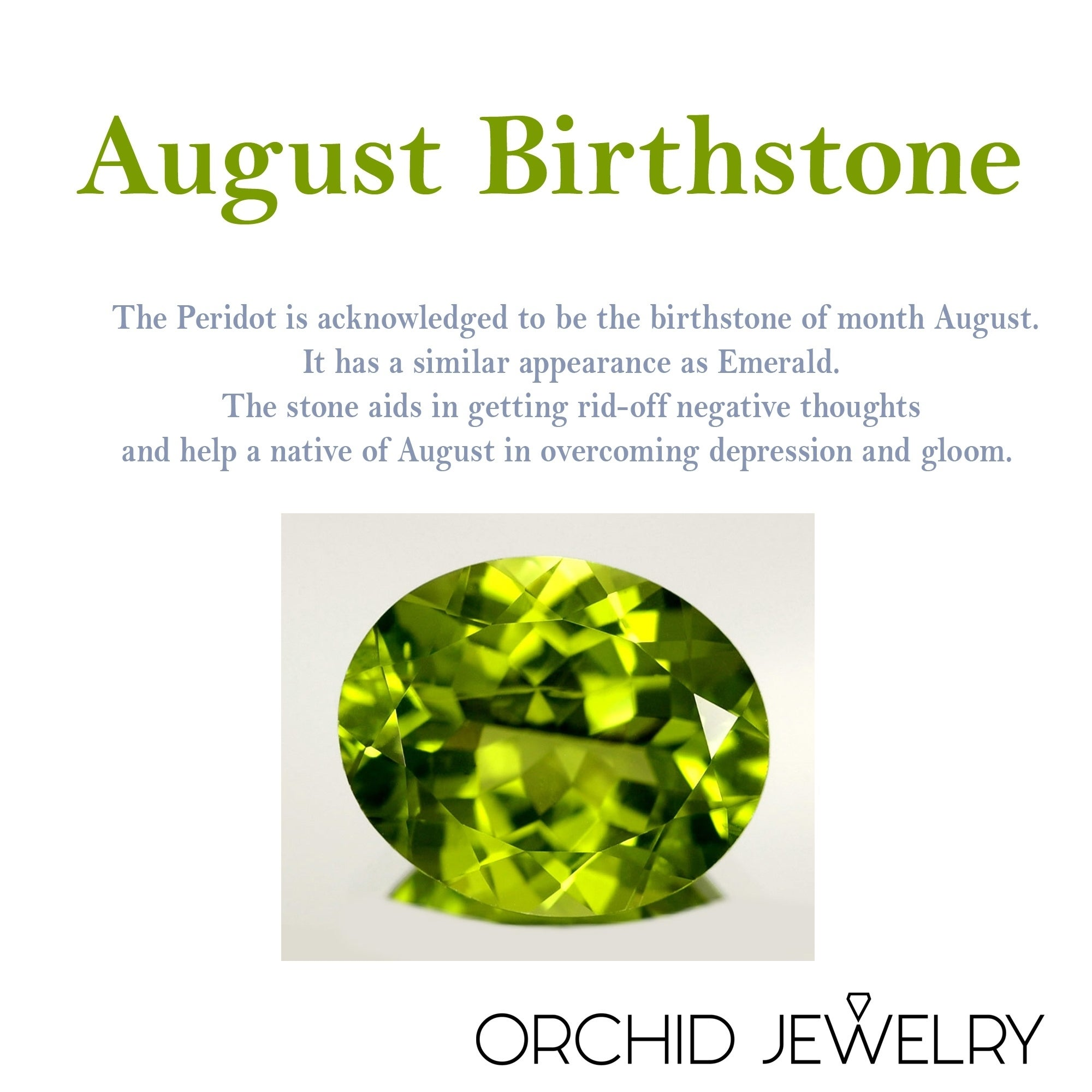 what is august birthstone