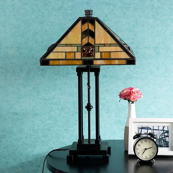 Shop Tiffany Style Egyptian Table Lamp Home Decor Lighting