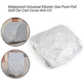 Waterproof Universal Electric Gas Push Pull Golf Car Cart Cover Anti UV
