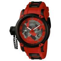 Invicta Men's Russian Diver 11334 Black, Red Watch