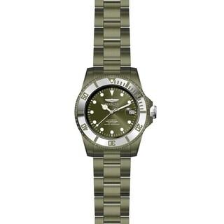Invicta Men's Pro Diver 27549 Khaki, Stainless Steel Watch