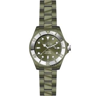 Invicta Men's Pro Diver 27543 Khaki, Stainless Steel Watch