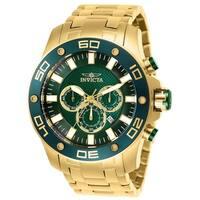 Invicta Men's Pro Diver 26077 Gold Watch