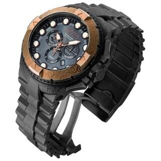 Invicta Men's Excursion 17868 Gunmetal, Stone Distressed, Rose Gold Watch