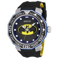 Invicta Men's DC Comics 27092 Stainless Steel, Black Watch