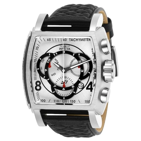 Invicta Men's 27918 'S1 Rally' Black Leather Watch