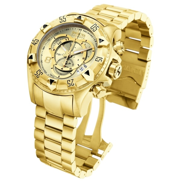 Invicta Men's Excursion 6471 Gold Watch