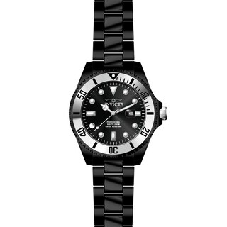 Invicta Men's Pro Diver 27542 Black, Stainless Steel Watch