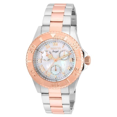 Invicta Women's Angel 17527 Stainless Steel, Rose Gold Watch