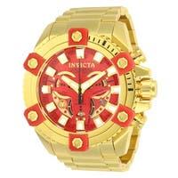 Invicta Men's Marvel 26014 Gold Watch