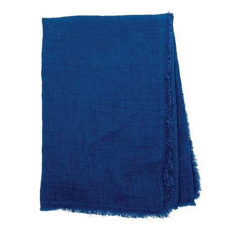 Bradford Fringe Cotton Throw