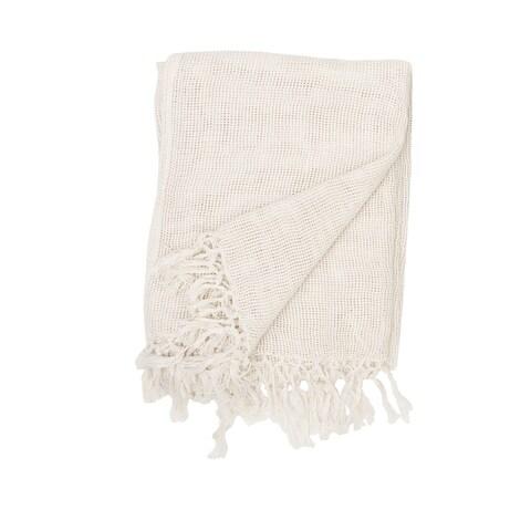 Hudson Lightweight Cotton Throw