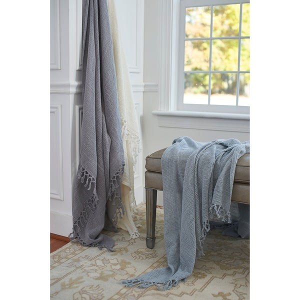 Hudson Lightweight Cotton Throw