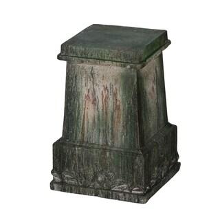 Garden Classic Vintage Antique Green Pedestal