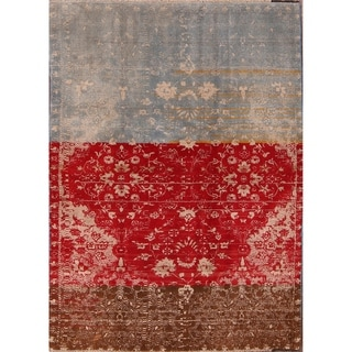 "Hand Made Traditional Oriental Shiraz Persian Area Rug Wool - 7'1"" x 5'1"""