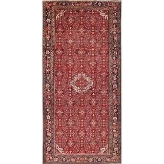 "Traditional Hand Made Hamedan Oriental Persian Area Rug Wool - 10'3"" x 4'10"""