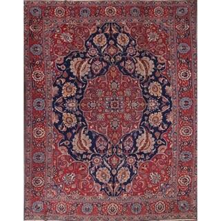 "Handmade Traditional Oriental Tabriz Persian Area Rug Wool - 13'1"" x 9'2"""