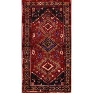 "Traditional Hand Made Wool Oriental Hamedan Persian Area Rug - 6'6"" x 3'6"""