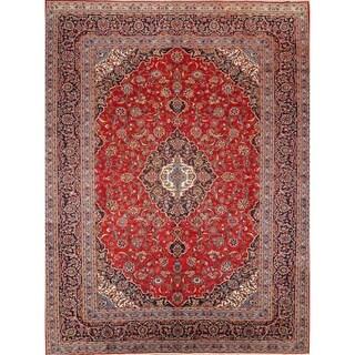"Kashan Handmade Vintage Persian Traditional Area Rug Wool - 12'10"" x 9'10"""