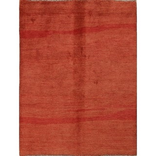 """Shiraz Wool Hand Knotted Gabbeh Persian Oriental Area Rug - 7'4"""" x 5'8"""""""