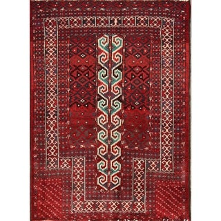 "Hand Made Wool Traditional Balouch Persian Oriental Area Rug - 3'6"" x 2'7"""