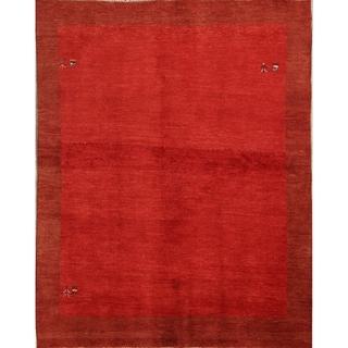 "Shiraz Wool Handmade Persian Gabbeh Traditional Area Rug Oriental - 7'6"" x 6'4"""