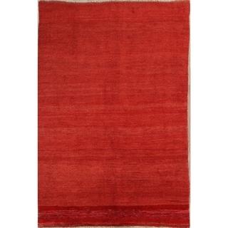 "Classical Shiraz Handmade Persian Traditional Gabbeh Area Rug Wool - 9'8"" x 6'7"""