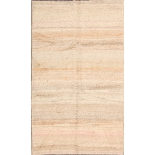 "Traditional Hand Made Wool Tribal Gabbeh Shiraz Persian Area Rug - 6'1"" x 3'9"""