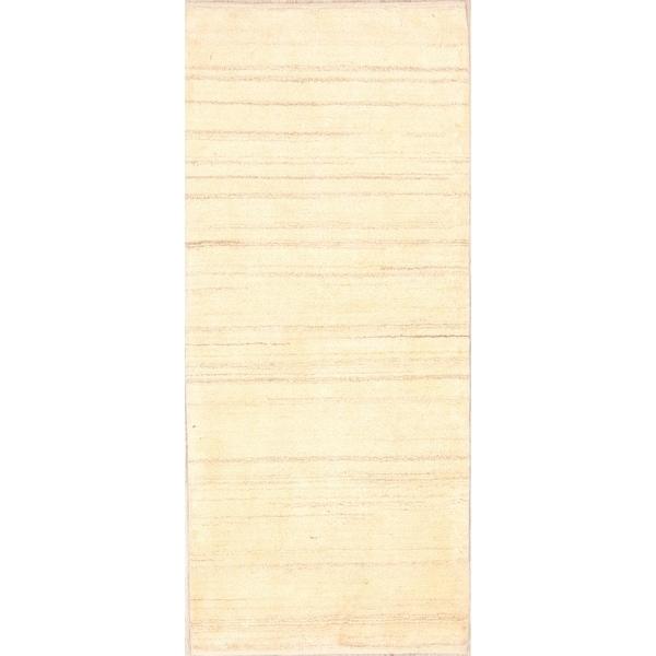 "Genuine Wool Shiraz Hand Made Gabbeh Persian Oriental Rug - 6'3"" x 2'9"" runner"