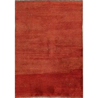 "Shiraz Handmade Wool Persian Gabbeh Area Rug Tribal Oriental - 7'5"" x 5'6"""