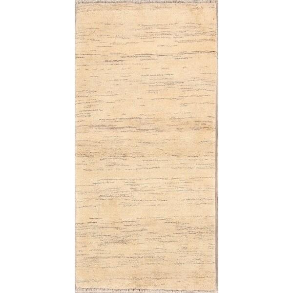 "Classical Shiraz Hand Made Gabbeh Persian Traditional Rug Wool - 6'4"" x 3' runner"