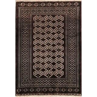 "Traditional Hand Made Balouch Bokhara Turkoman Persian Area Rug - 4'0"" x 2'10"""