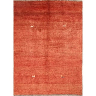 "Gabbeh Shiraz Persian Tribal Handmade Wool Area Rug Oriental - 6'8"" x 4'10"""