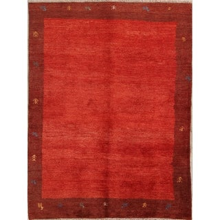 "Shiraz Wool Handmade Persian Gabbeh Traditional Area Rug Oriental - 7'5"" x 5'7"""