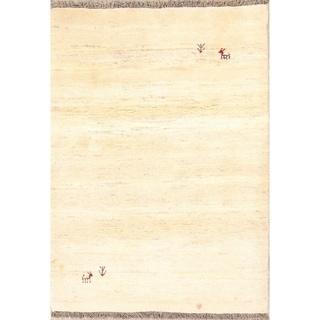 "Classical Shiraz Handmade Gabbeh Persian Oriental Area Rug Wool - 4'7"" x 3'2"""