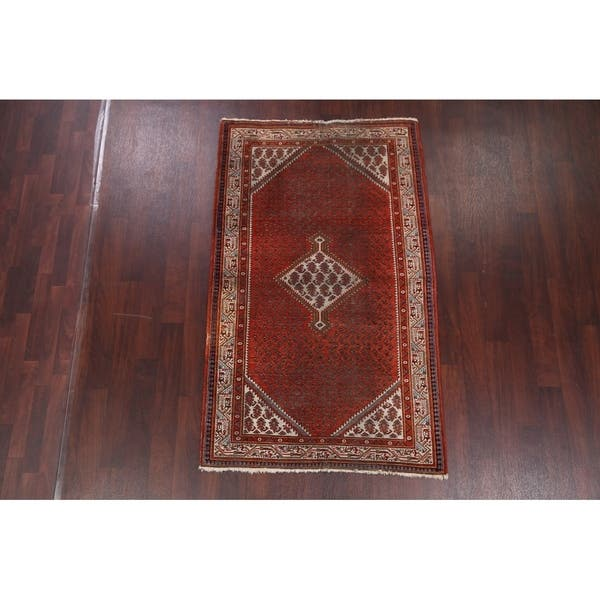 Antique Botemir Hand Knotted Persian